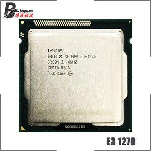 Image 1 - Intel Xeon E3 1270 E3 1270 3.4 GHz Quad Core CPU Processor 8M 80W LGA 1155