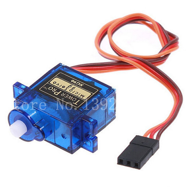 5pcs/lot Tower pro SG90 RC Micro Servo 9g For Arduino Aeromodelismo Align Trex 450 Airplane Helicopters Accessories
