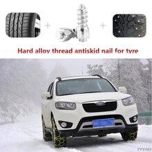 Шт. 100 шт. шнековый Винт 12 мм авто внедорожник вездеход анти-скольжение Винт Шпилька колеса шины снежные Шины Шипы отделка авто аксессуары