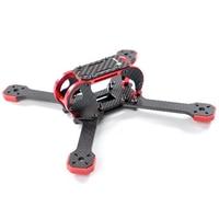 Transtec Fatty 218 3K 4mm Carbon Fiber Drone Frame Kit 218mm Quadcopter Frame Kit w/ 7075 Metal Piece for FPV RC Frame Drone DIY