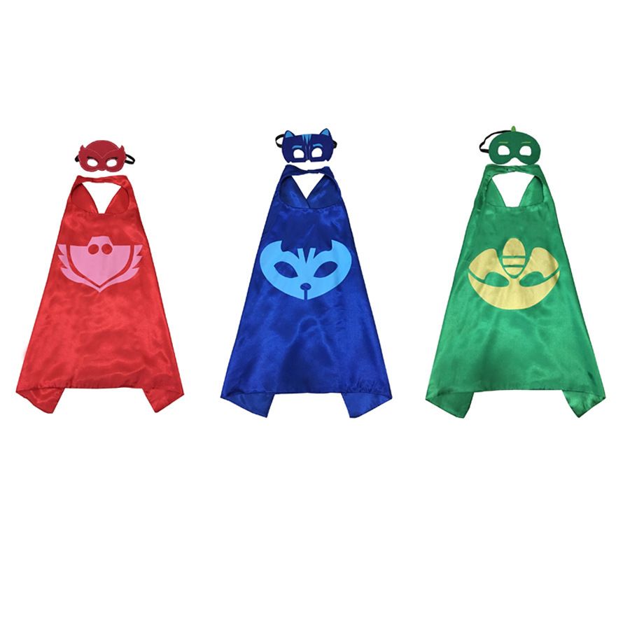 Gecko Mask Pj Masks Archives Kids Gekko Fancy Dress Topeng 3pcs Costumes For Set Of Catboy Owlette With