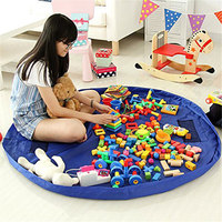 Vvcare BC 0233 Kids Waterproof Foldable Playmat Toy Storage Bag Children Potable Outdoor Picnic Mat