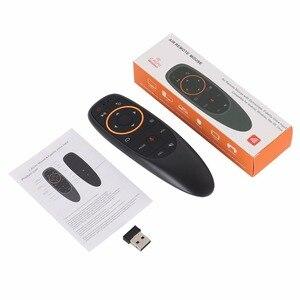Image 5 - G10 2,4G Voice Air Maus 6 achsen Gyroskop Fly Maus Hinzufügen IR Lernen Funktion Arbeit Mit Android Box TV PK Wechip W1 Für X96 mini