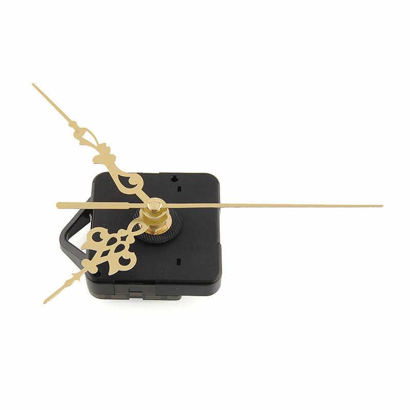 1 conjunto Relógio de Parede Mecanismo de Movimento de Quartzo Relógio de Parede DIY Relógio de Quartzo Hora/Minuto Mão Movimento do Relógio Peças do Kit ferramentas