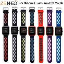 Sport Silicone For Amazfit Bip Strap Watchband for Xiaomi Huami Amazfit Band Bracelet For Huami Amazfit Bip Bit Wrist Strap 20mm аксессуар ремешок df для xiaomi amazfit bip xiclassicband 01 red