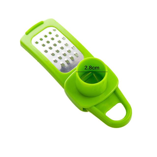 1PC Multi Functional Ginger Garlic Grinding Grater Planer Slicer Cutter Cooking Tool Utensils Kitchen Accessories (Random Color)