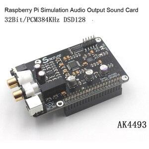 Image 4 - AK4493 DAC Decoder Board Digital Broadcast Netzwerk Player Für Raspberry Pi 2B 3B 3B + Dekodierung Zu I2S 32BIT 384KHZ DSD128
