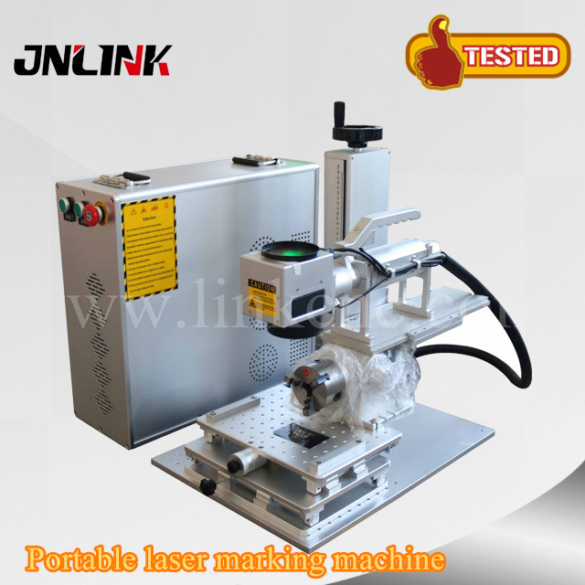 Portable Laser Engraver >> Us 3050 0 Laser Portable Marking Machine Fiber Jewelry Laser Engraving Machine Portable Mini Fiber Laser Marking In Wood Routers From Tools On