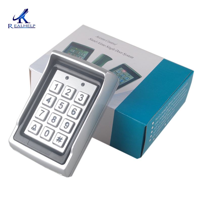 Keypad Manufacture In China Access Control In Home Automation RFID Code Standalone Access Anti-vandal 125KHZ