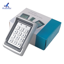 Keypad Manufacture in China Access Control in Home Automation RFID Code Standalone Access Anti vandal 125KHZ