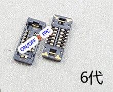 10 шт./лот включения/выключения FPC разъем J0801 Для iPhone 6 6 Г 4.7 «На Материнской Плате