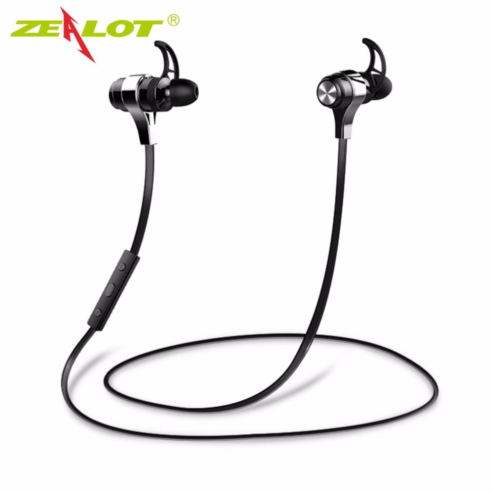 ZEALOT Wireless Bluetooth Earphone Portable Sport Earphone Strong Compatibility Noise Reduction Waterproof Outdoor dental endodontic root canal endo motor wireless reciprocating 16 1 reduction