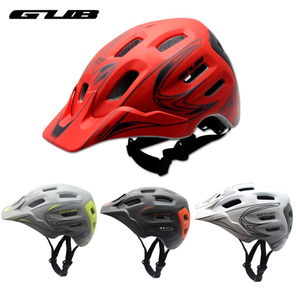 цены GUB XX7 Adults Cycling Helmet Integrally Molded ESP 18 Vents Visor M 56-59cm L 59-62cm Women Men MTB Road Bike Bicycle Helmets