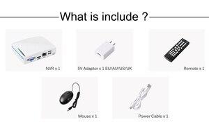 Image 5 - USAFEQLO Super Mini enregistreur CCTV en NVR, 8CH 16ch, pour caméra H.265 1080P/5mp Onvif IP, Cloud P2P,eSATA/TF/USB, télécommande