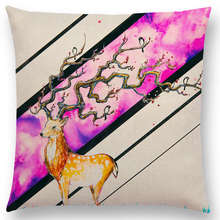 Watercolor Art Painting – Pillow Covers