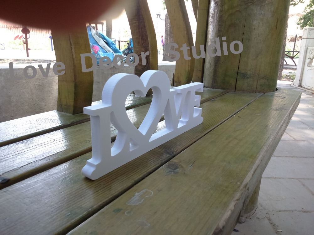 LOVE Wooden Letters Wood Sign For Sweetheart Table
