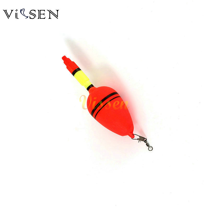 Vissen 5pcs/lot Fishing Float Bobbers Plastic Sea Float Surf Casting Float Ball For Fishing Accessories Tackle