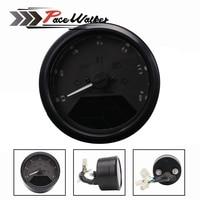 8 18V Universal LCD Digital Tachometer Speedometer Odometer Motorcycle Motorbike 12000RPM Motorcycle Accessories