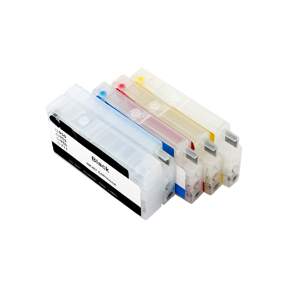 For <font><b>HP</b></font> 952 <font><b>953</b></font> 954 955 Empty <font><b>Refillable</b></font> Ink Cartridge With ARC Chip For <font><b>HP</b></font> OfficeJet Pro 7740 8210 8710 8720 8730 Printer image