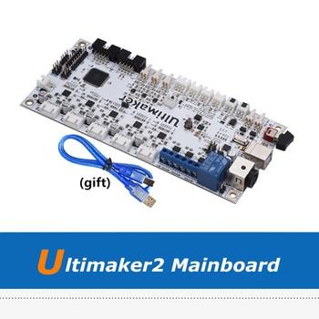 1pc 3D Printer Part UM2 Motherboard V2.1.4. Ultimaker 2 Control Board For Ultimaker 2 3D Printers acs800 inverter io board control rmio 11c motherboard 15 22 30 45 75 55kw