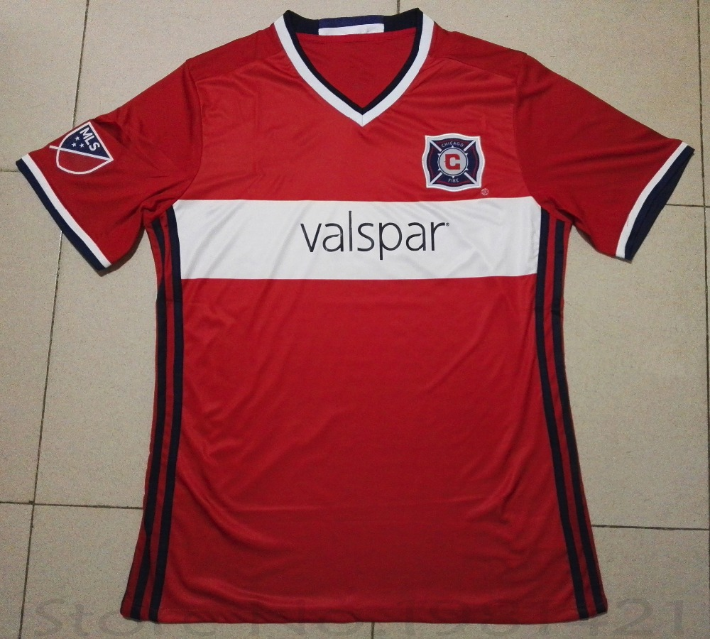 newest collection d50f6 4f9ad Chicago Fire new jersey 2016 MLS Football jersey club ...