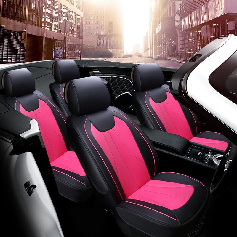 Special Leather Car Seat Covers For Porsche Cayenne Macan: Wear Resistant Leather Car Cushion 3D Car Seat Cover For
