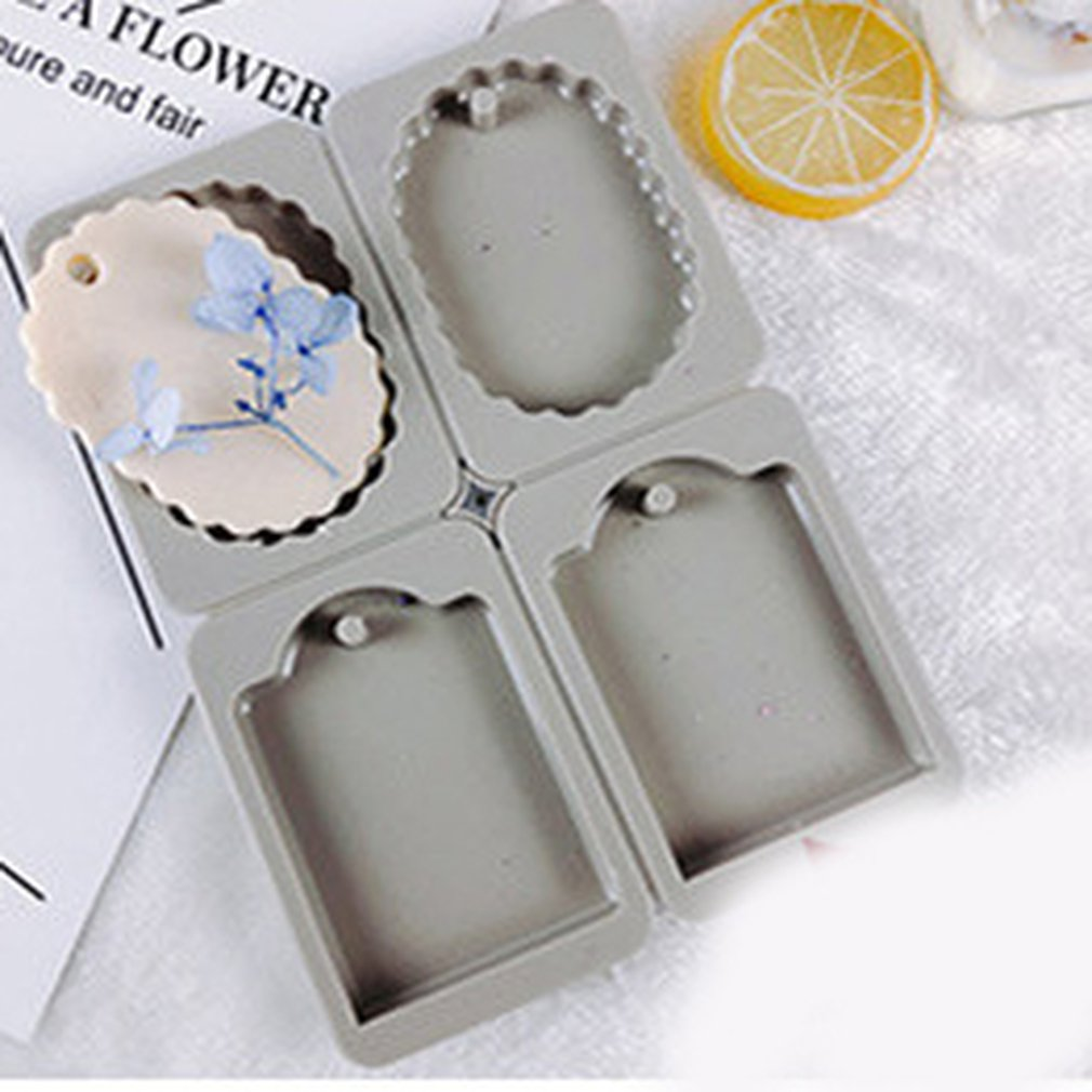 Silicone Aroma Therapy Gypsum Handmade Soap Mold Mould Reusable Non-stick Easy To Use And Clean Non-toxic