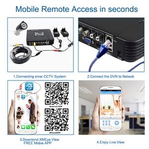 Image 5 - Smar 720P 1080P AHD Camera kit 8PCS Outdoor CCTV Camera System IR Security Camera Video Surveillance System 8CH DVR Kits