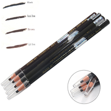 High Qaulity 4colors Cosmetic Different Waterproof Tattoo Eyebrow Pencil For Eyebrow Permanent Makeup Tattoo Beauty Makeup Tool
