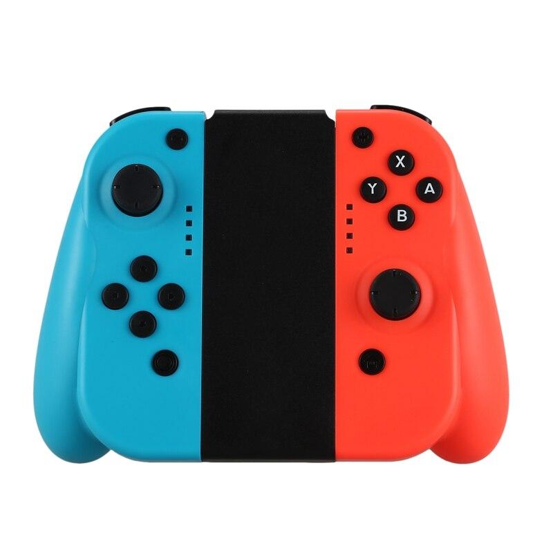 Manette de jeu sans fil gauche et droite poignée de jeu à Induction Bluetooth poignée pour interrupteur ntint accessoires Joy-Con
