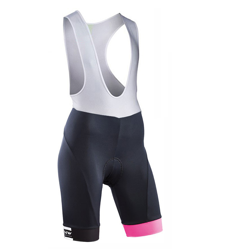 2019 NW Team Gareth Pro Women Summer 9D Gel Padded Coolmax Bicycle Bib Shorts Quick Dry Cycling shorts Verano Culotes Ciclismo