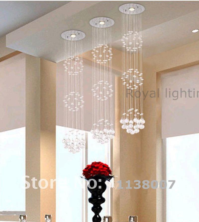 comedor unids largo crystal luz colgante lmparas colgantes barra de luz bola de cristal luz