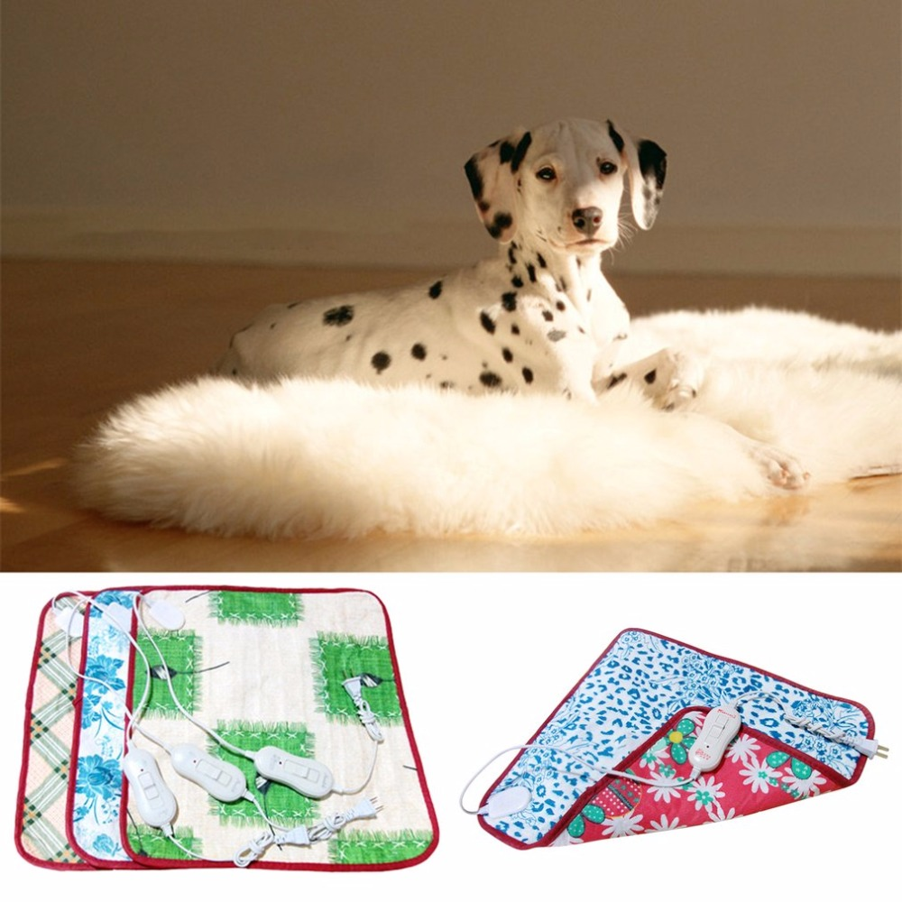 220v Pet Electric Heating Blanket Cat Electric Heated Pad Anti-scratch Dog Heating Mat Sleeping Bed For Autumn Winter Hot New