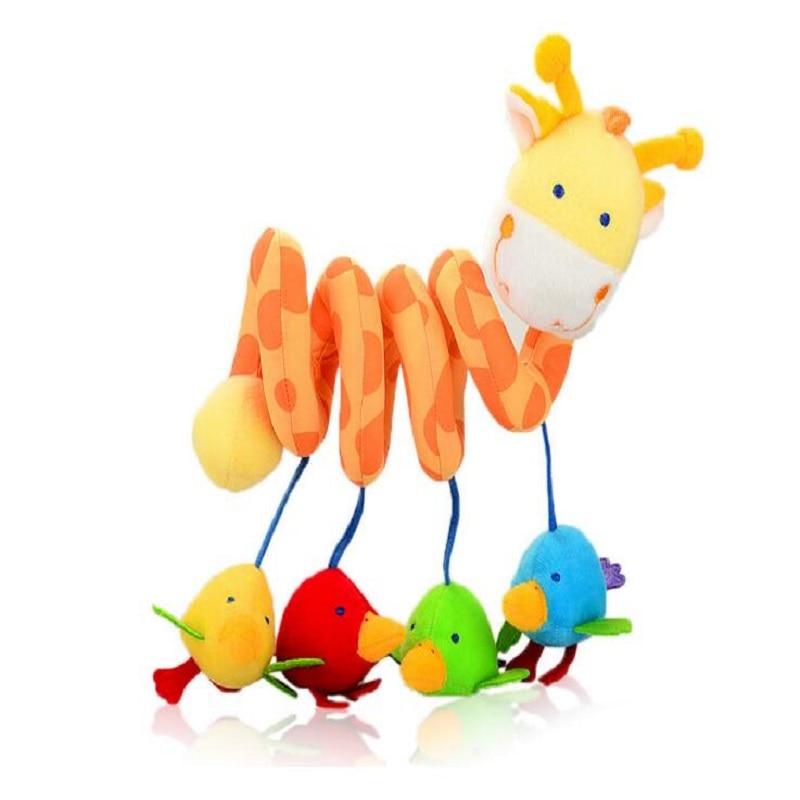 Peluche animal jirafa infantil cochecito de juguete de educación - Juguetes para niños - foto 2