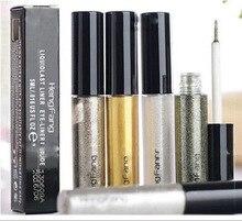 A prueba de agua 8 colores Eyeliner belleza maquillaje líquidas Comestics brillo delineador de ojos shimmer brillante alta calidad