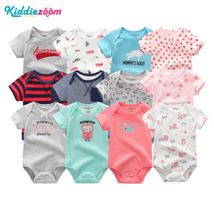 Image 1 - Newborn Boy Photography Props New Baby Girl Clothes Cotton Baby Bodysuits bebe Boy Clothes Body for Infants 6PCS/lot New 0 1Year