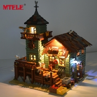 MTELE LED Light Kit For Old Fishing Store Building Block Lighting Set Compatible With Lego 21310