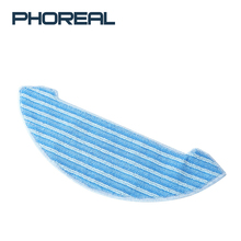 PhoReal aspiradora Robot Replacement Parts 5pcs Mop Cloths For Home Vacuum Cleaner FR 8 wireless stofzuiger wet dry Accessories все цены