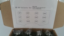 New ER20 1/8-1/2 Super Precision 12 PCS ER-20 Collets Set With 3/16 1/4 3/8