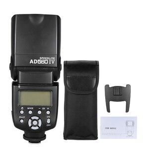Image 5 - Andoer AD560 IV Flash Speedlite 2.4G Wireless On camera Slave Speedlite Flash Light for Canon Nikon Olympus Pentax Sony