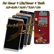 Para Huawei Honor 9 Lite/Honor 9 Juventude LLD AL00 LLD AL10 LLD TL10 LLD L31 DIsplay LCD Completa + Digitador Da Tela de Toque montagem