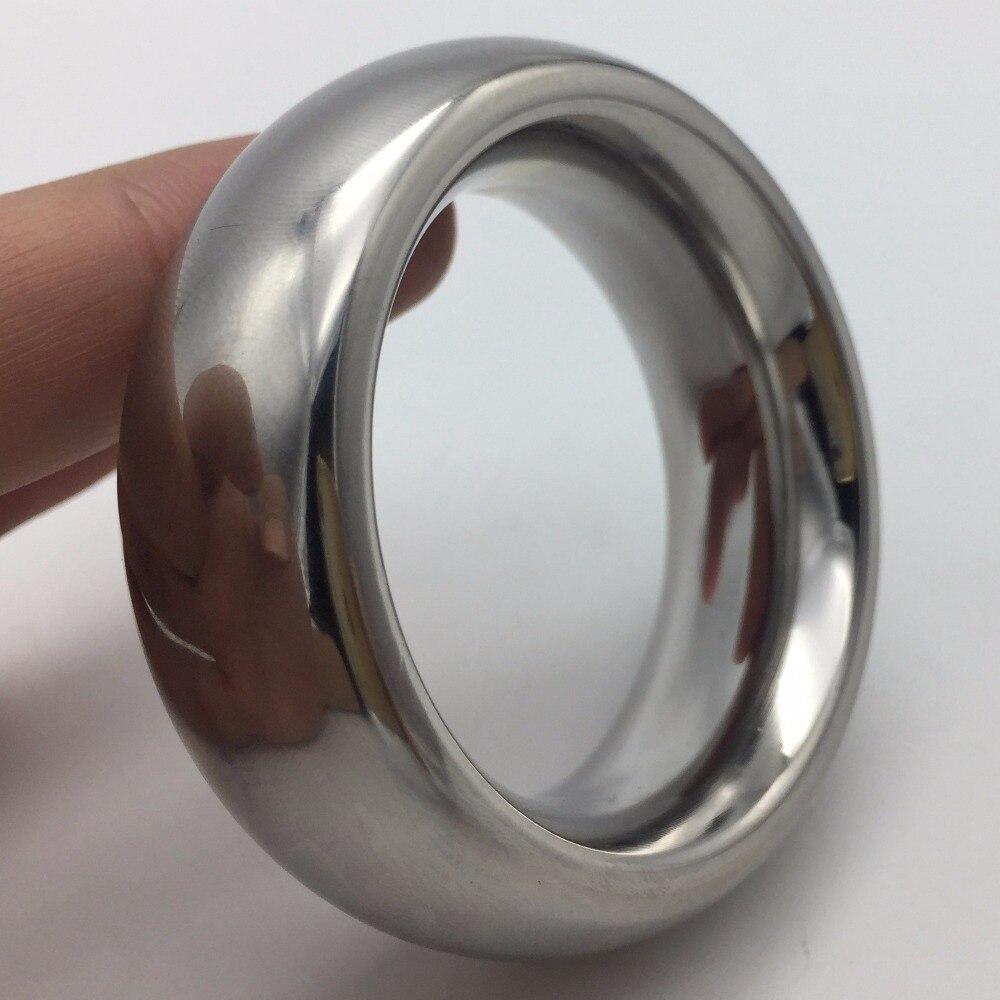 Anillo del martillo del pene del anillo vinculado anillo ampliación masculina ccocking SM castidad masculina dispositivo de la masturbación masculina