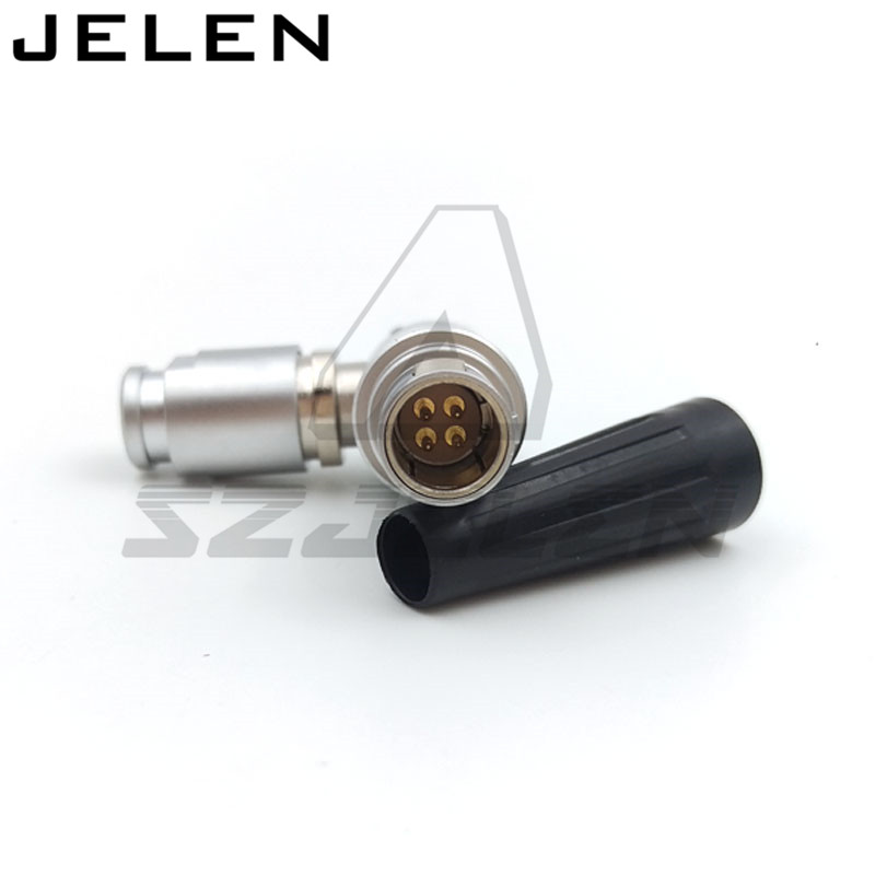 FHG.0B.304.CLAD 4 pin connector plug . Medical device power connector plug, 90 degree elbow plug, single positioning pins szjelen connector egg 0b 309 cll fgg 0b 309 clad z 9pin connector cable connector male and female connector