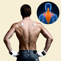 Koogeek Rechargeable EMS Smart Massager Wireless Electrical Muscle Stimulator Relax antstress Relieve Shoulder Neck Back massage