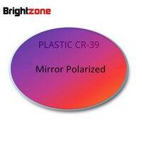 New Items High Grade Brand CR 39 Resin Mirror Colorful Polarized Lenses Myopia Polarized Sun Lens