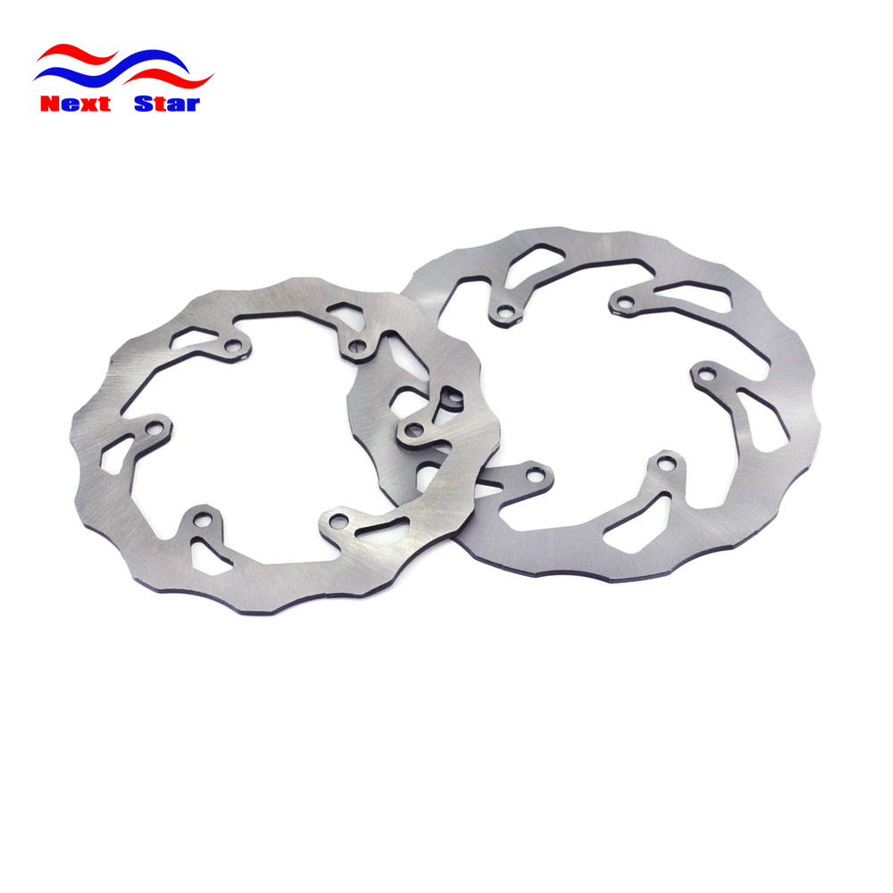Front And Rear Brake Rotor Assembly For YAMAHA TTR250 1993-2007 TT250R 93-07 DT200 1991 DT230 WR200 Cross-Country Motorcycle lopor front brake rotor disc for dt200 wr200 wr200r dt230 lanza tt250r raid ttr250 yp250 majesty dx de luxe abs