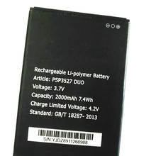 Westrock 2000mAh PSP3527 DUO PSP3527DUO PSP 3527 Battery for Prestigio Wize N3 PSP3527DUO Cell Phone