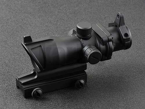 Dot Sight Lingkup Senapan Taktis Trijicon Acog Gaya 1X32 Merah dengan 20Mm Rifle Picatinny Rail Mount M3321 pyramid