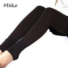 Зимние новые модные подштанники для женщин высокая эластичность Твердые Брюки универсальные тонкие Высокая талия утолщенные теплые женские леггинсы L34