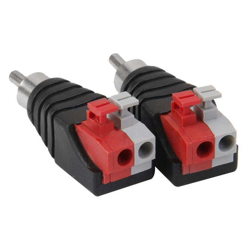 online kaufen gro handel rca adapter for speaker wire aus china rca adapter for speaker wire. Black Bedroom Furniture Sets. Home Design Ideas
